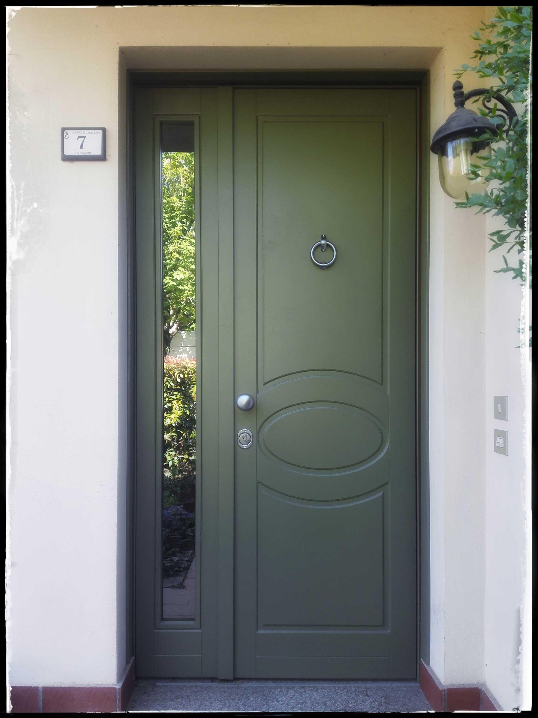 Porta A Due Ante Con Vetro.Porte Blindate Erreci Serramenti E Design